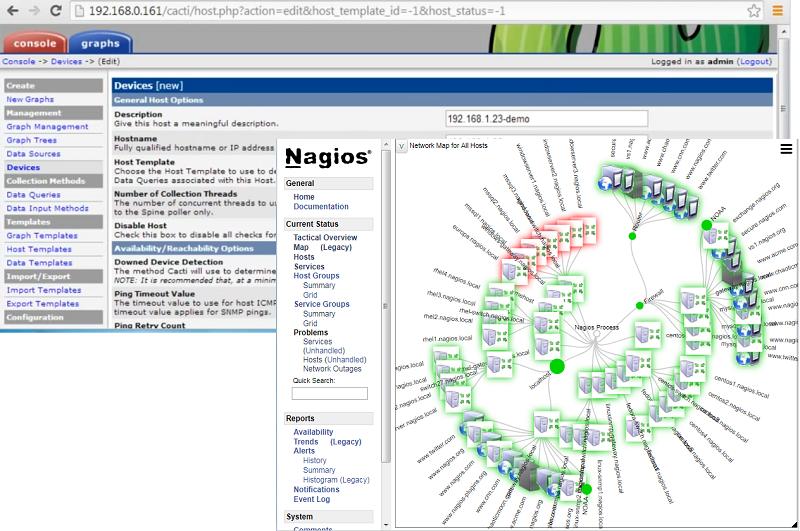 Nagios vs cacti osradar open source technology os tutorials nagios vs cacti maxwellsz