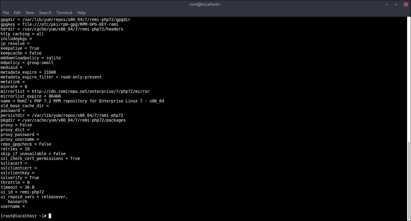 14.-Enabling PHP7.2 repo