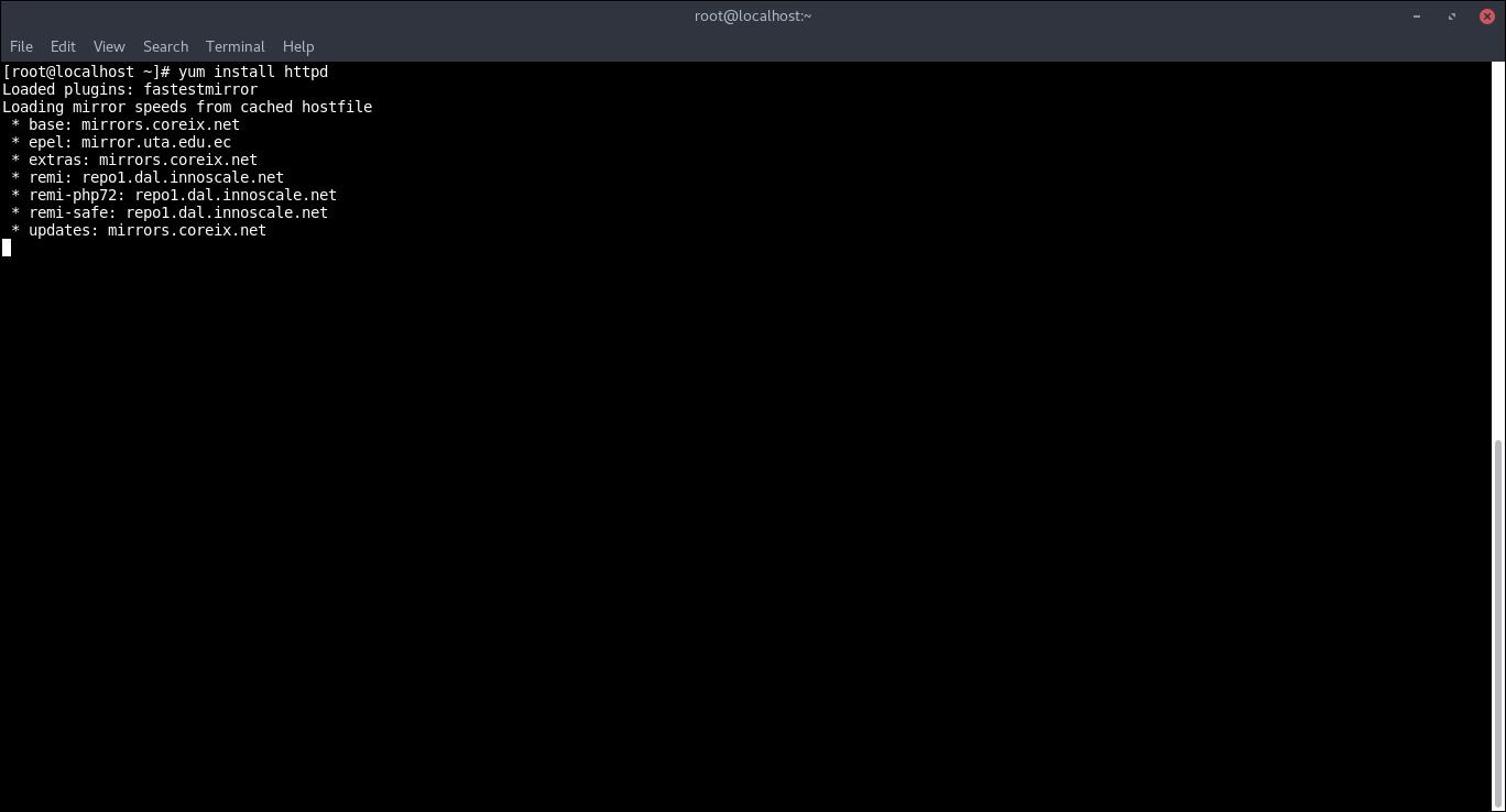 16.- Installing Apache