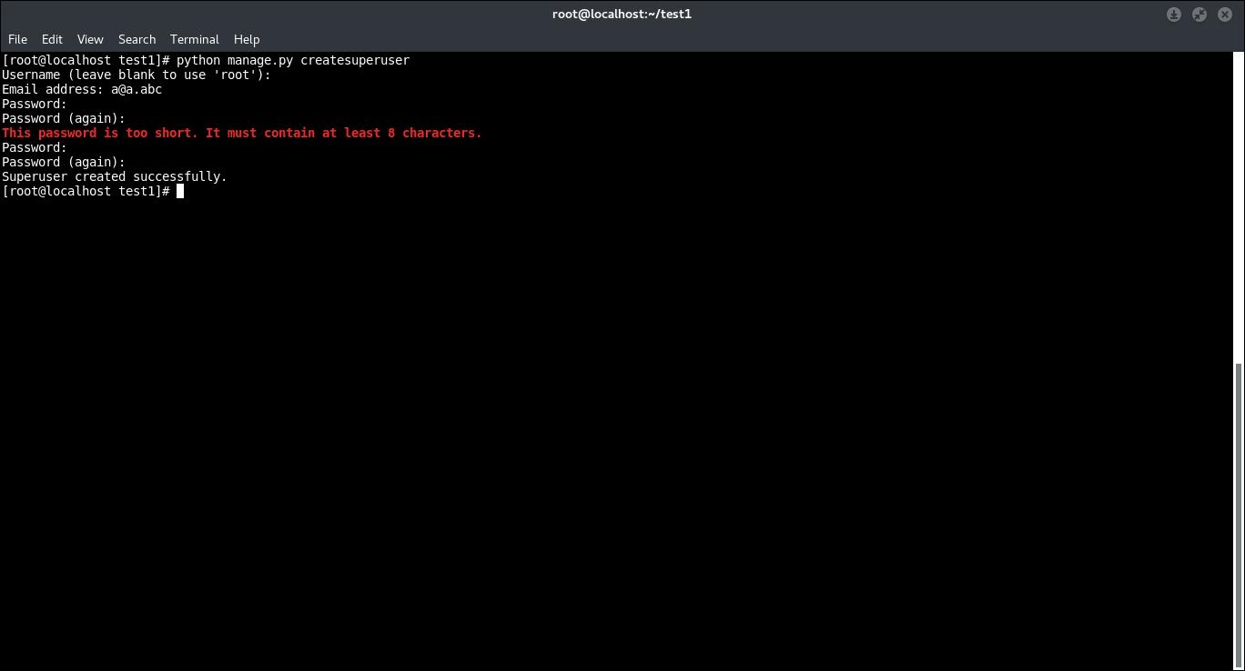 16.- Creating root user