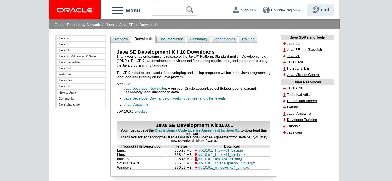 2.- Downloading JDK