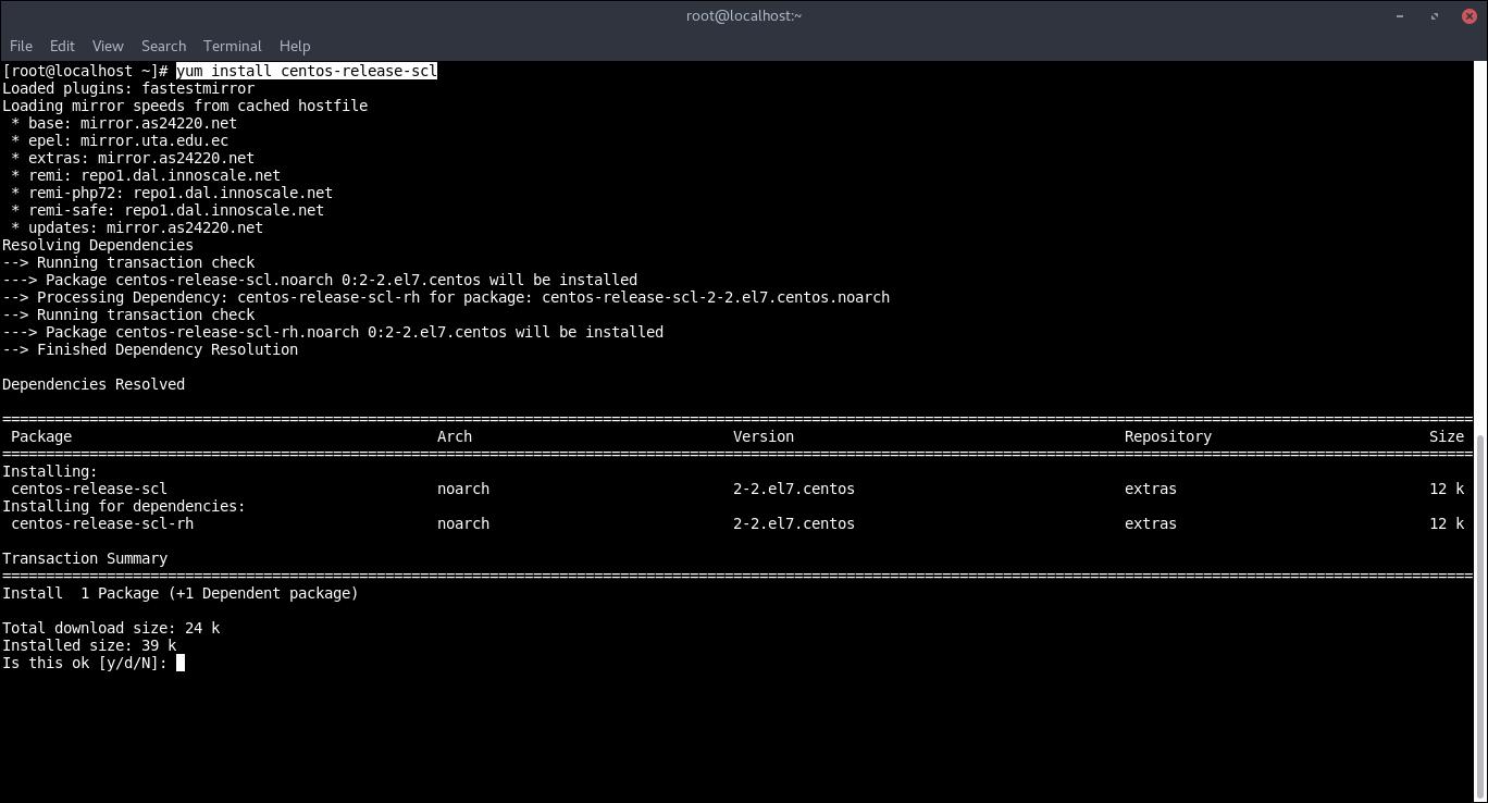 23.-Adding SCL repository