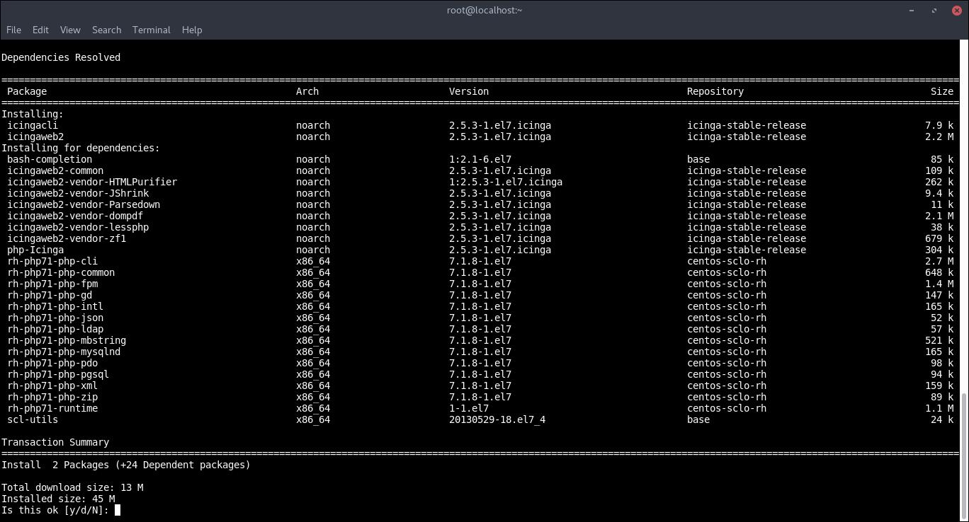 24.-Installing Icinga2web