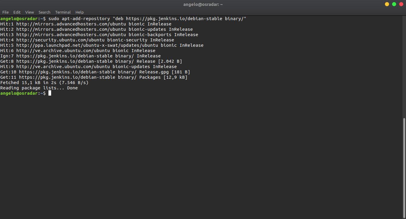 4.- adding repository