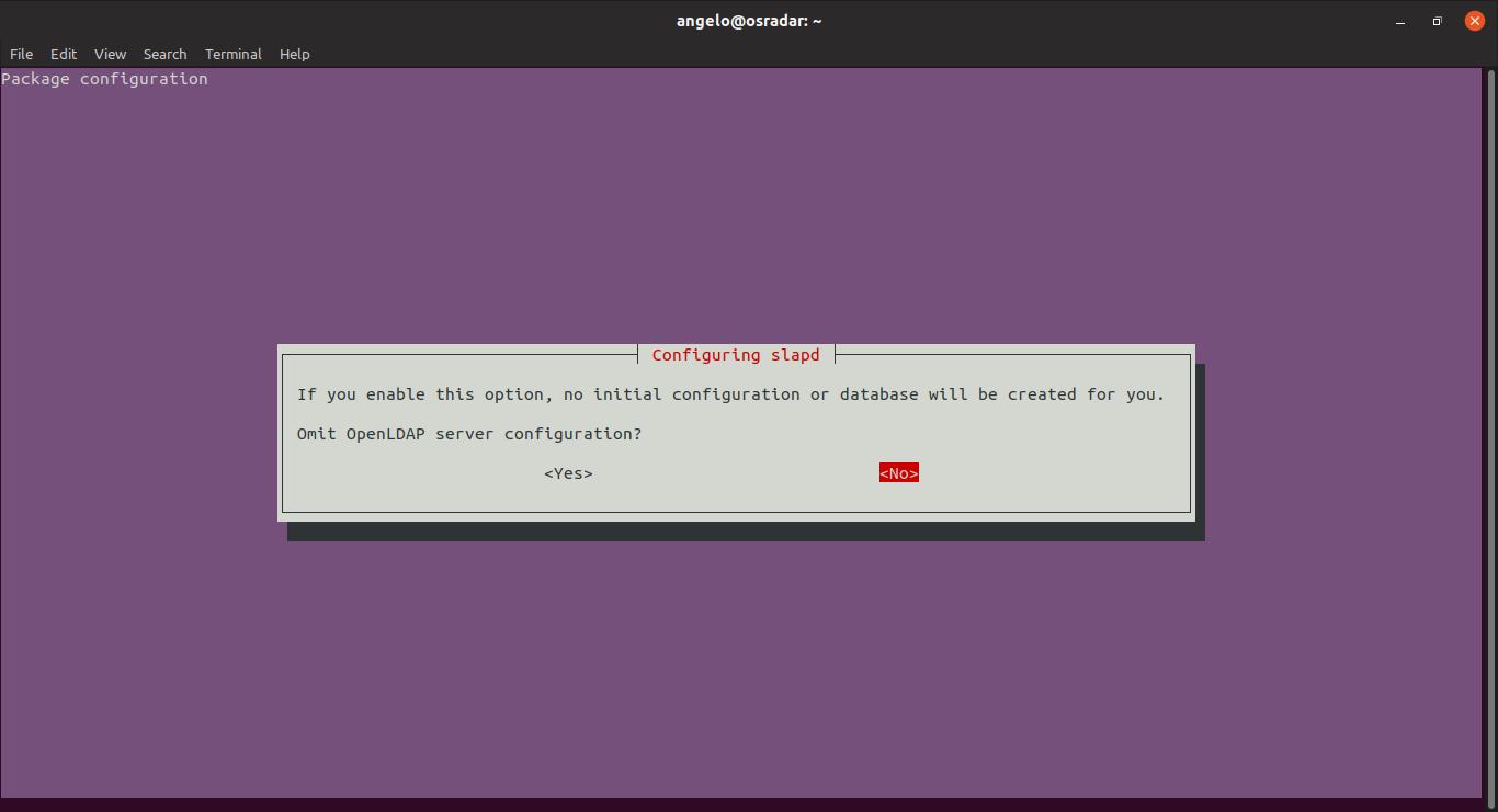 6.- Configuring LDAP