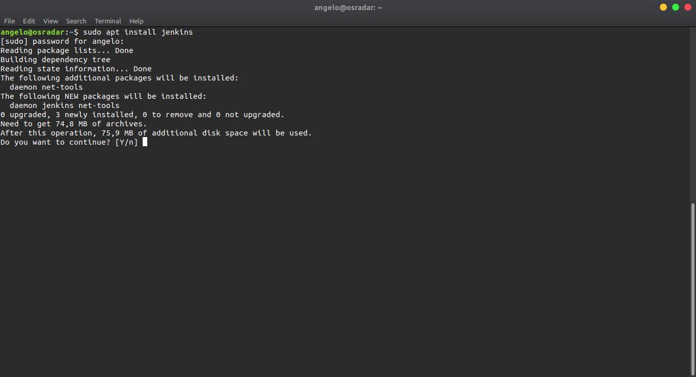 6.- Installing Jenkins