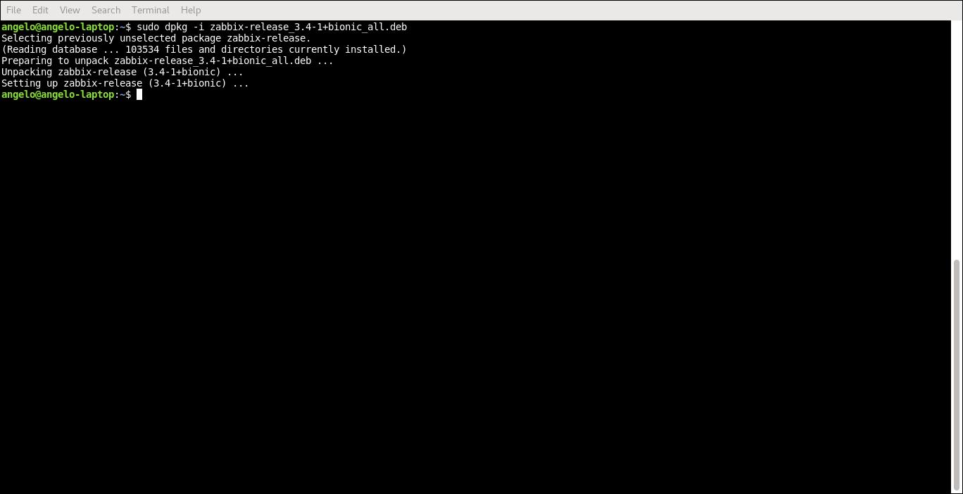 6.- Adding zabbix repository
