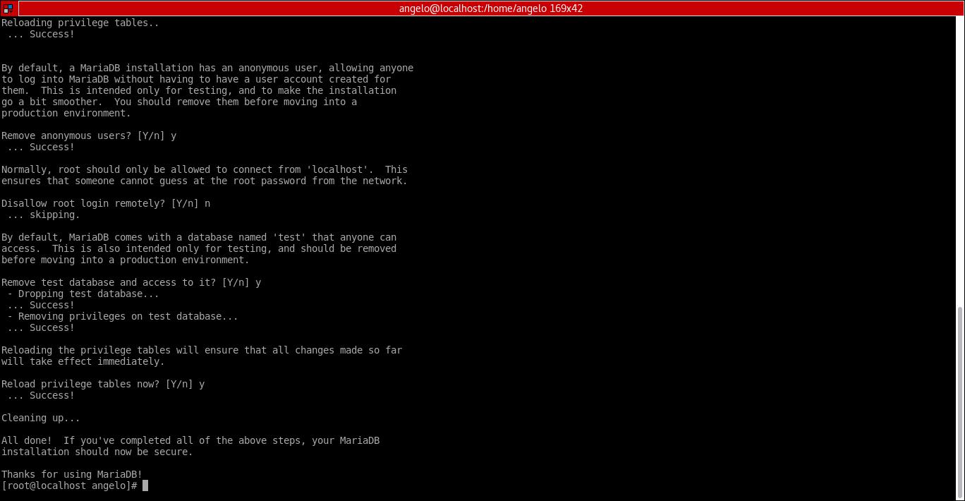 9.- mysql_secure_installation
