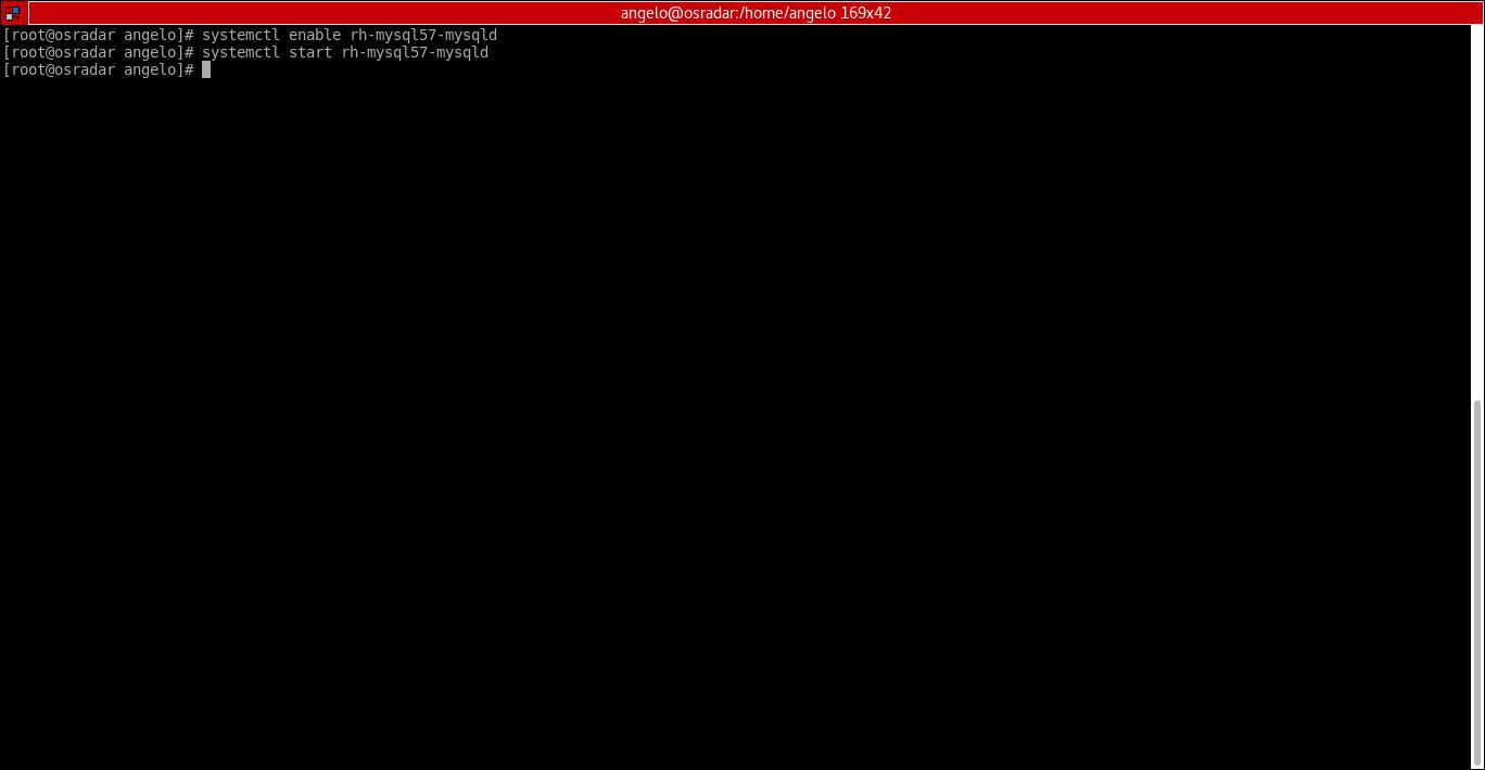 11.- Starting database