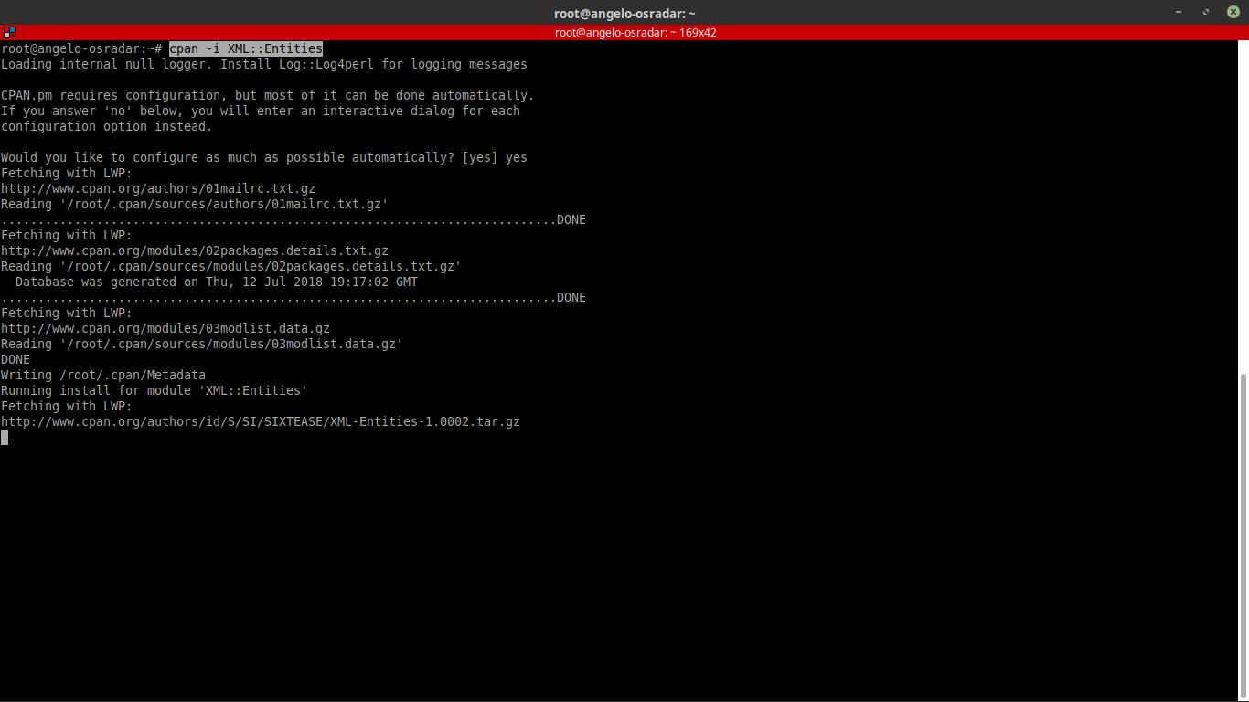5.- Perl Modules