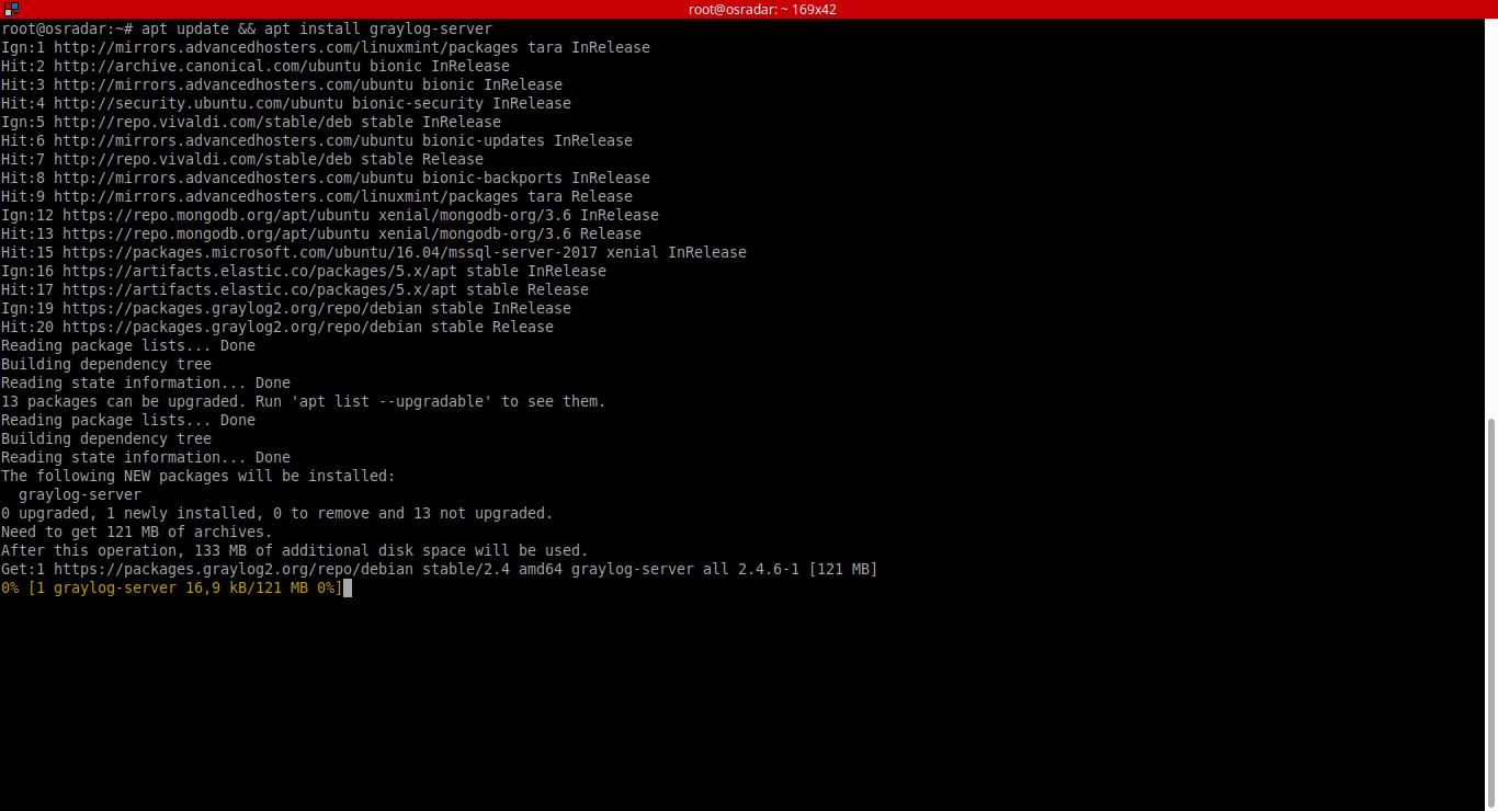 13.- adding graylog repository