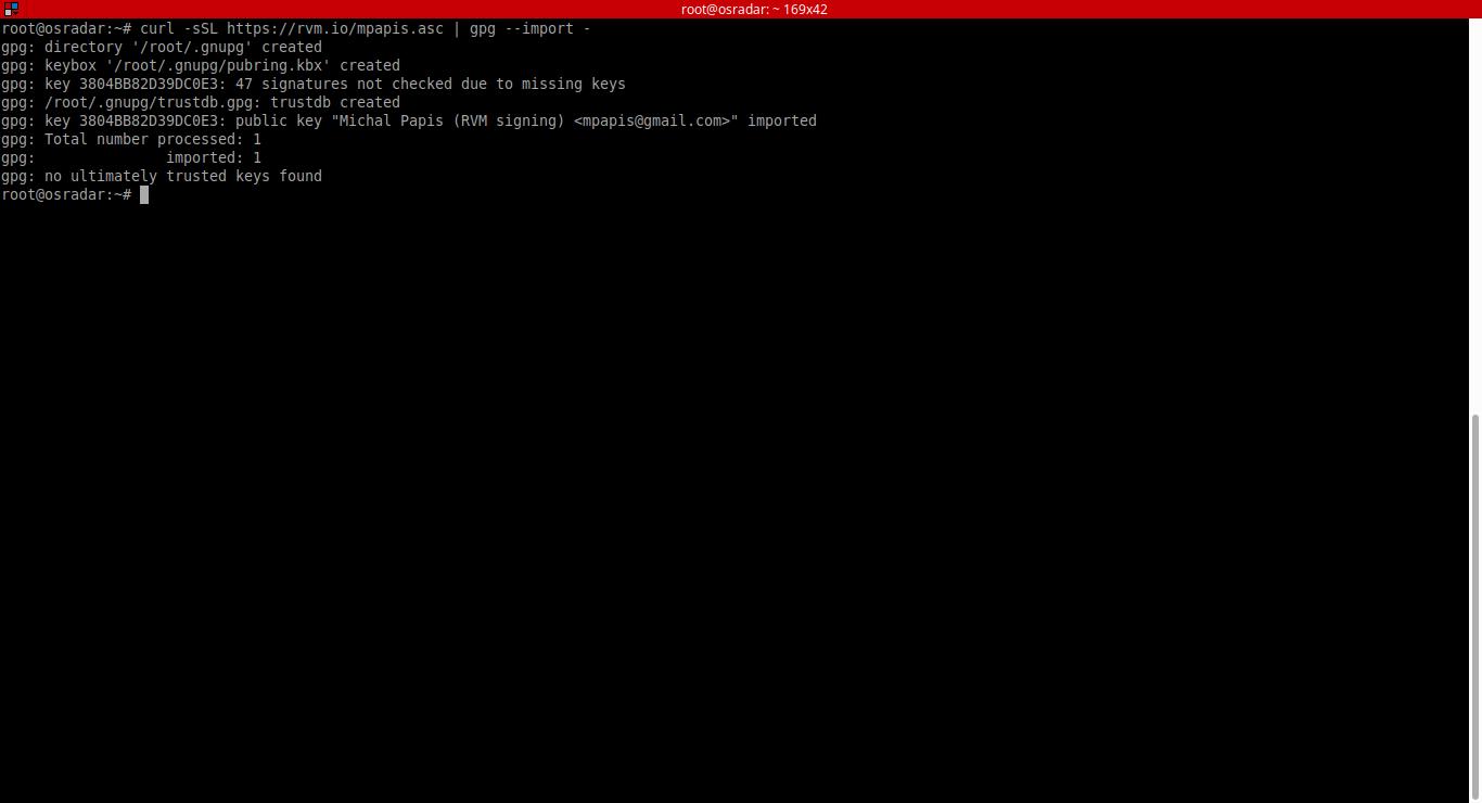3.- importing signature key