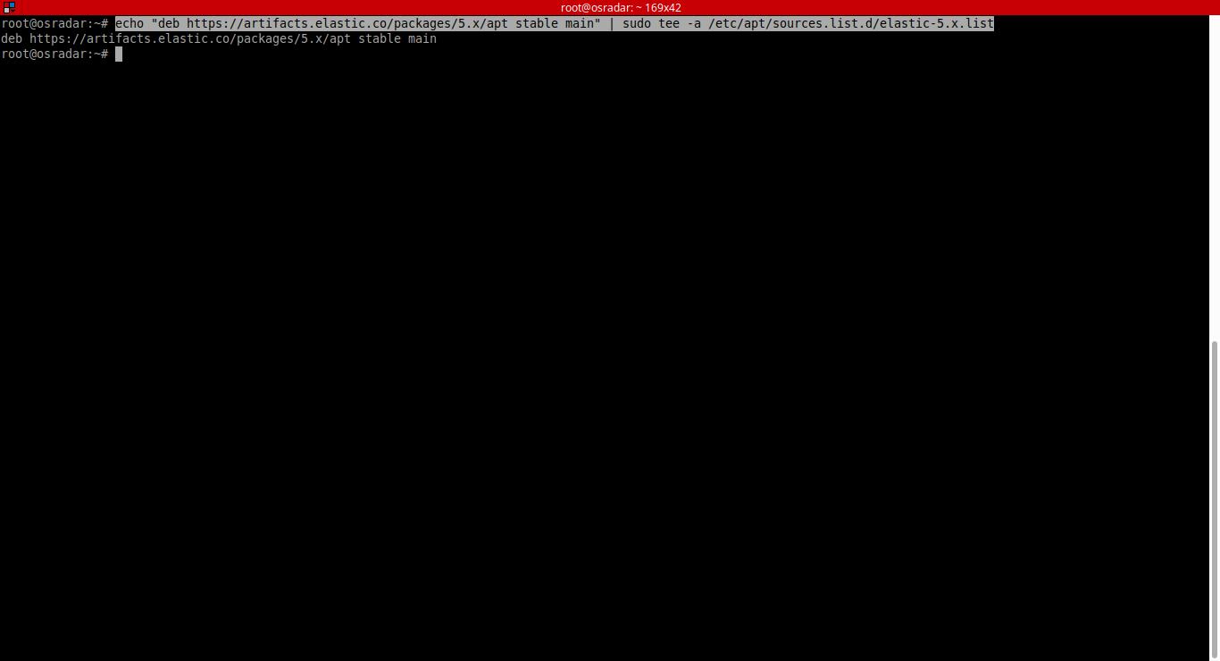 4.- Adding Elasticsearch repo