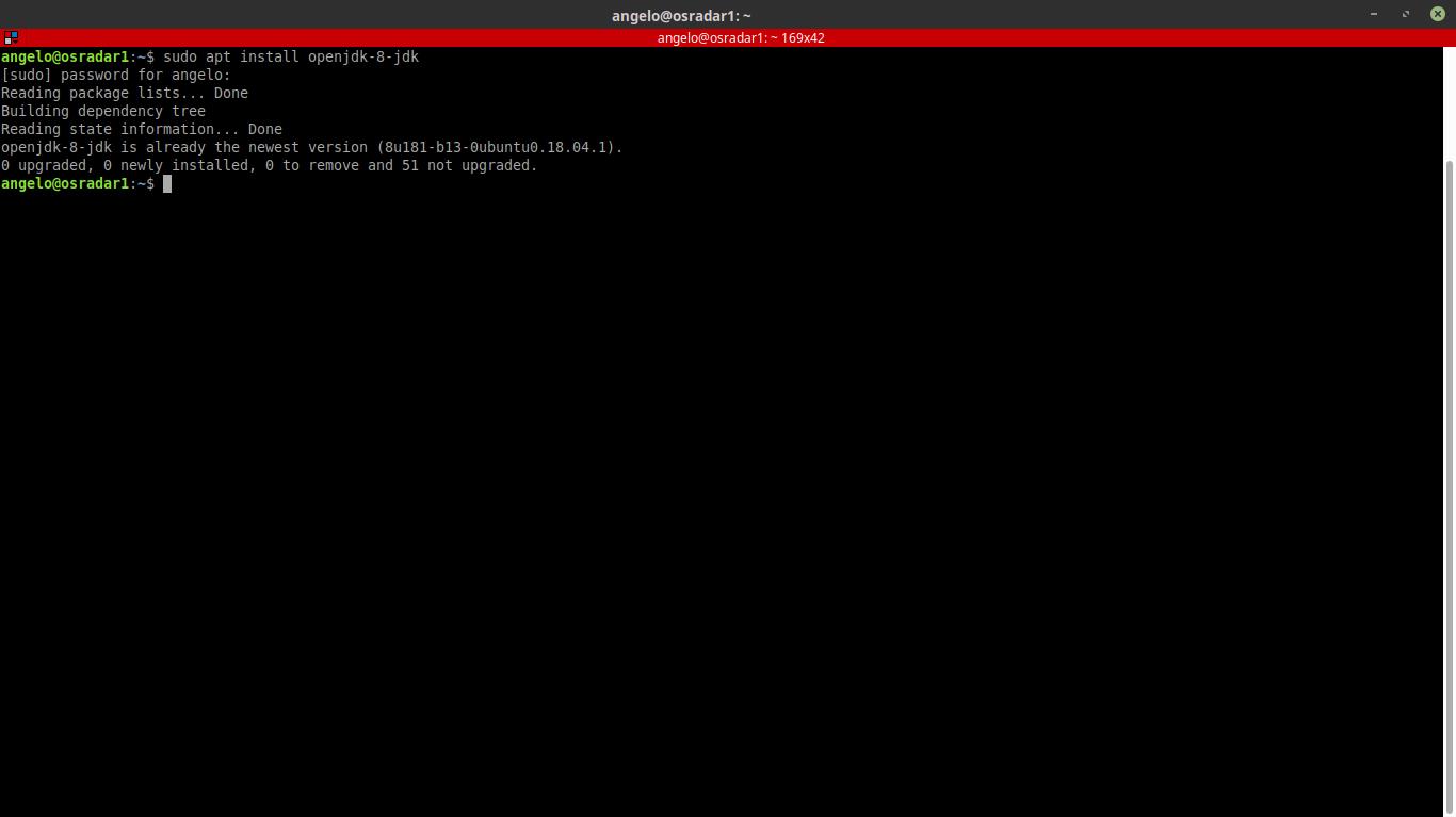 1.- Installing OpenJDK 8
