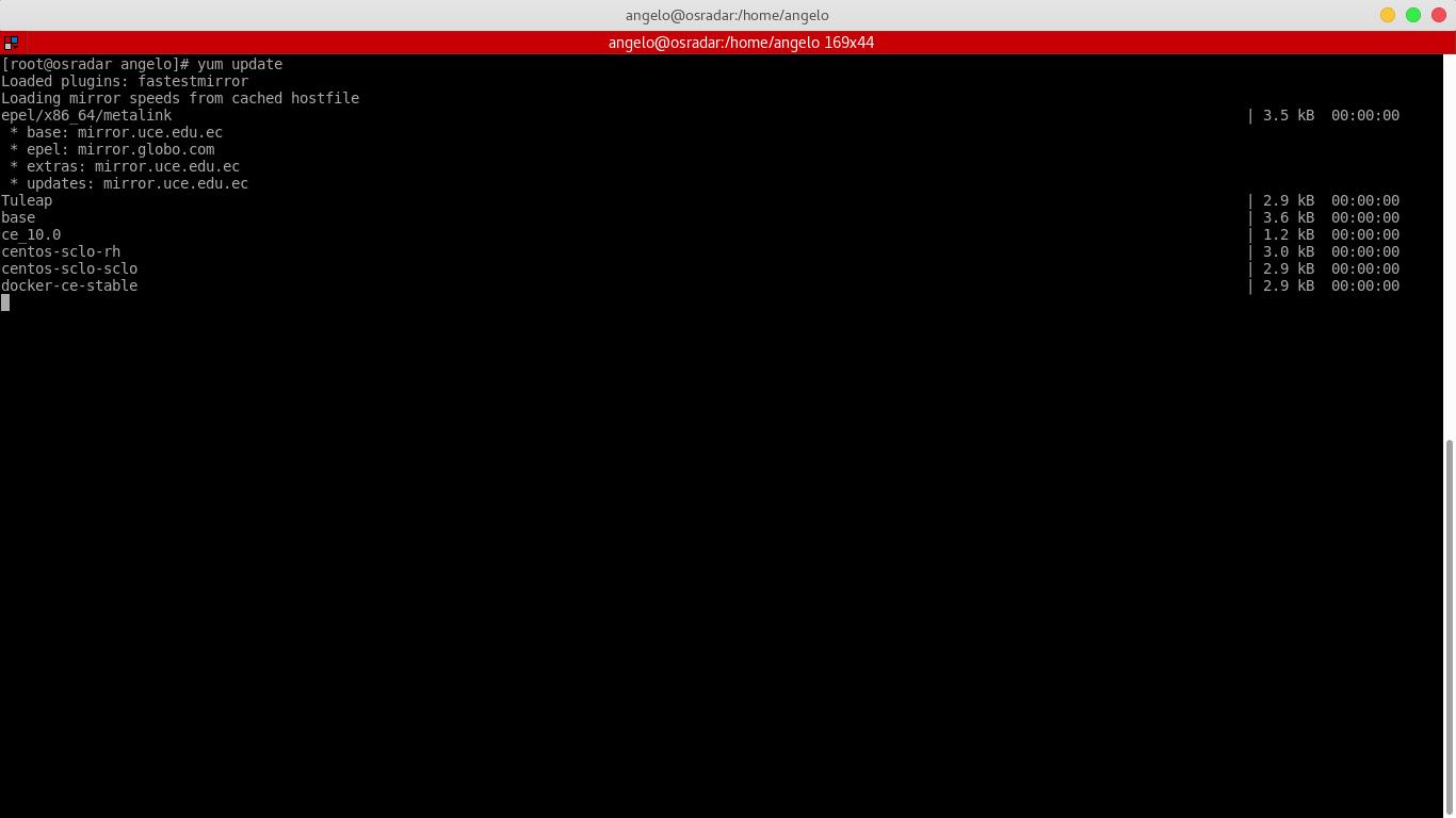 1.- Upgrading CentOS 7