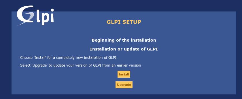 13.- Install GLPI
