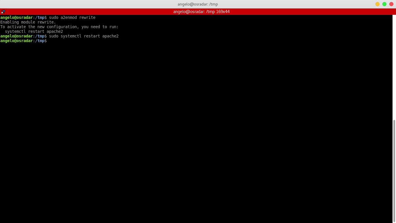 14.- Enabling rewrite module in apache