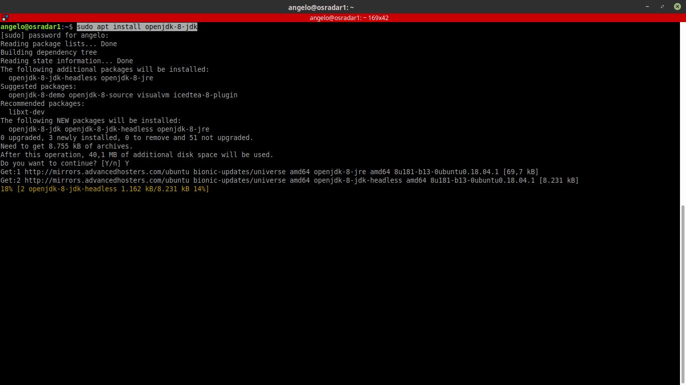 2.- Installing OpenJDK 8