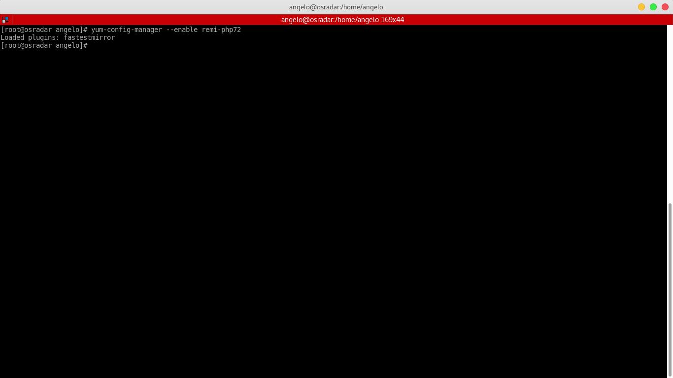 2.- Enabling Remi repository