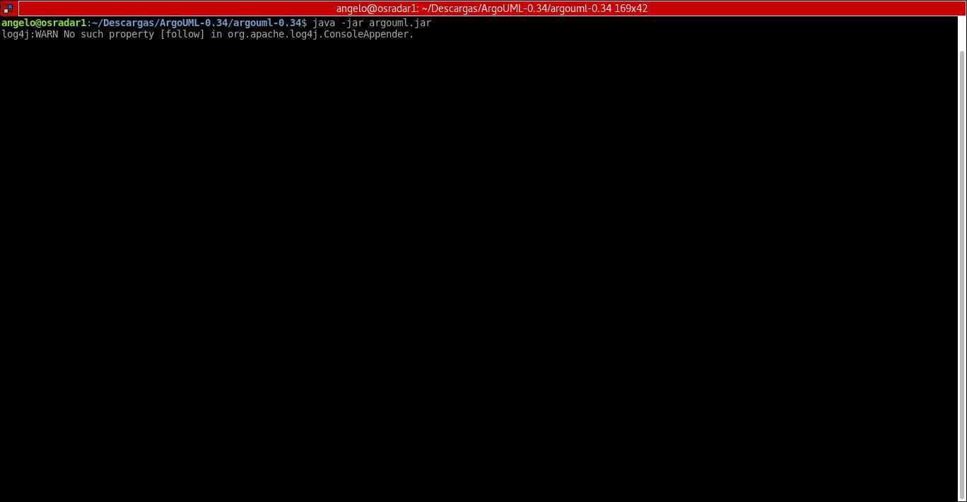 4.- Running a .jar file. ArgoUML