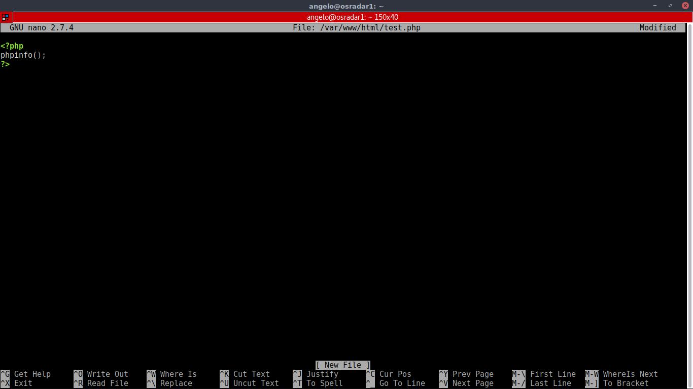5.- Testing php
