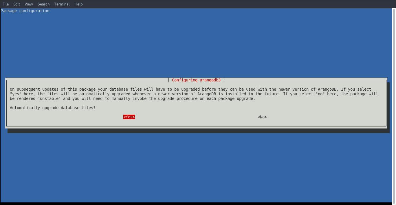 7.- Installing ArangoDB