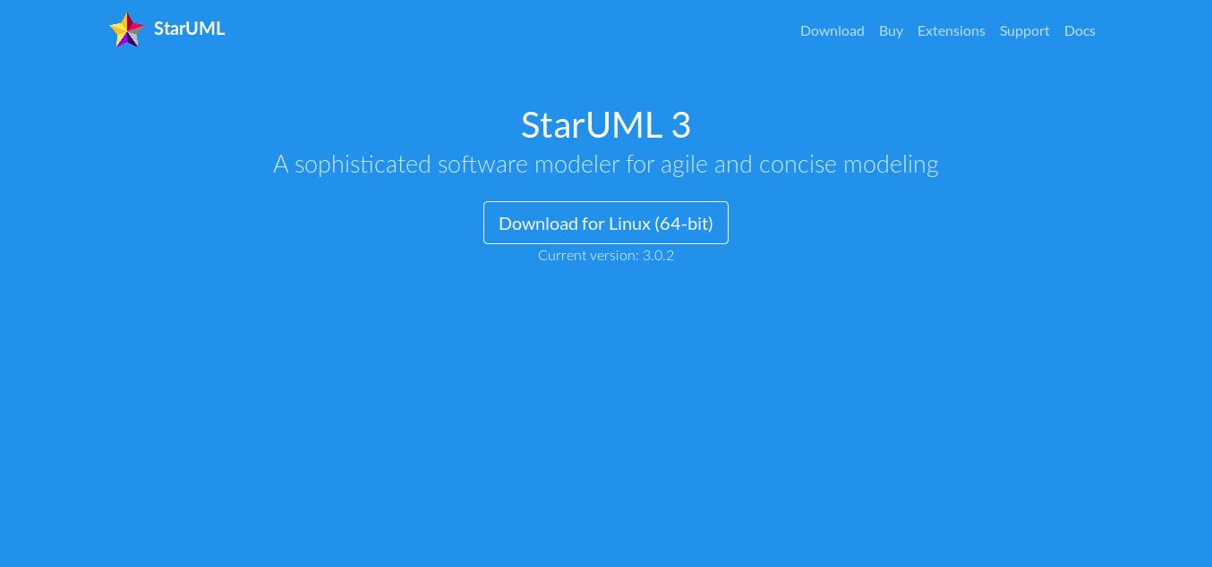 9.- StarUML website