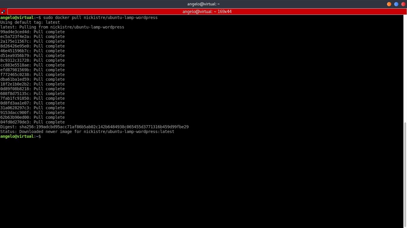 10.- Downloading a Docker image