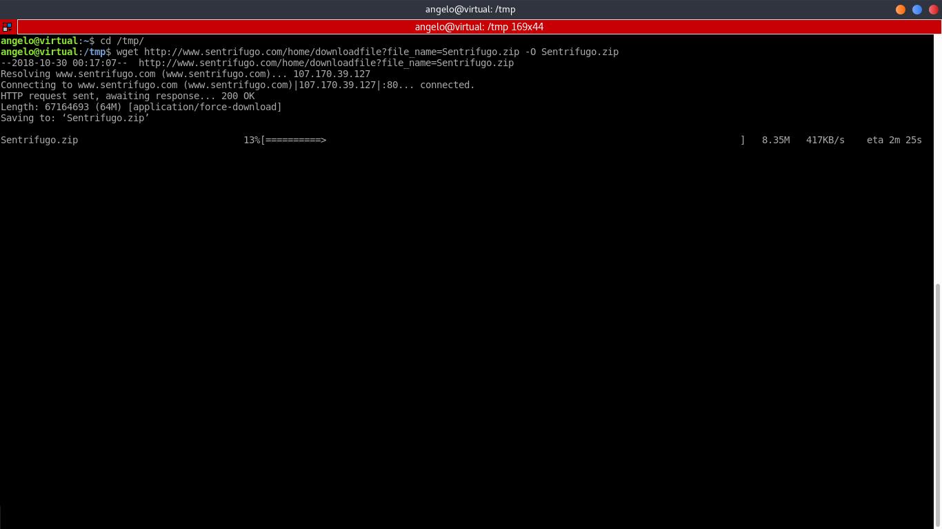 11.- Download and install Sentrifugo
