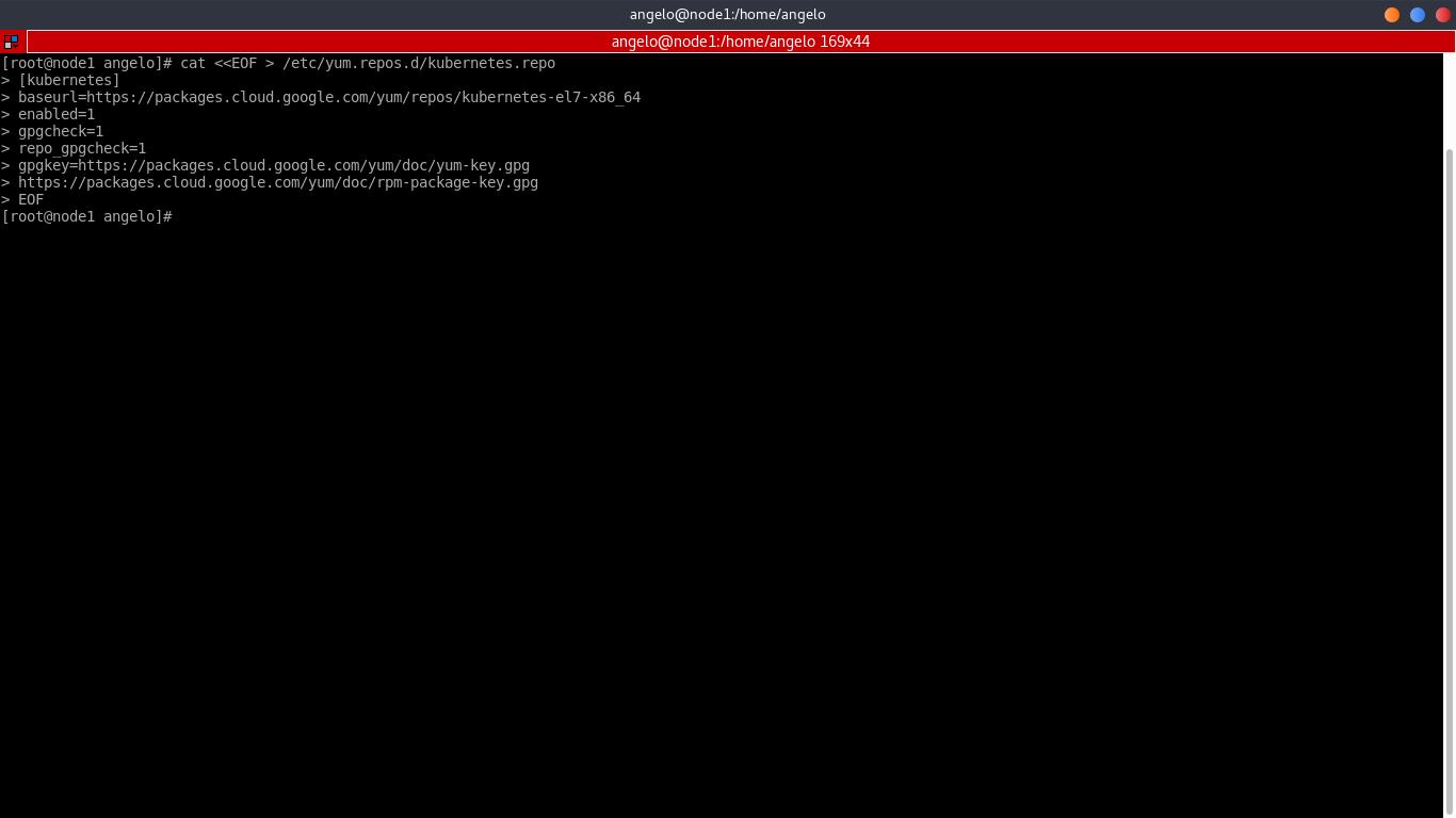 12.- adding the kubernetes repository