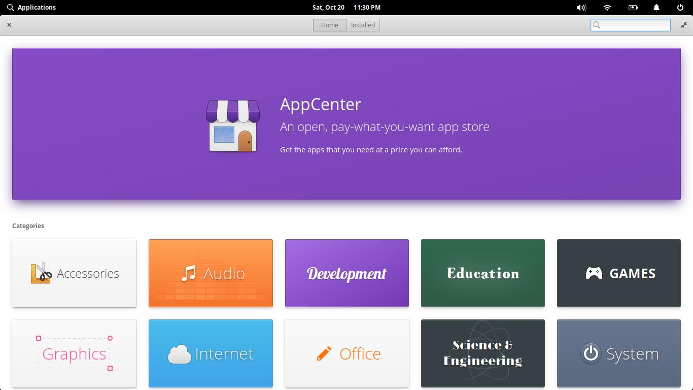 2.- New AppCenter