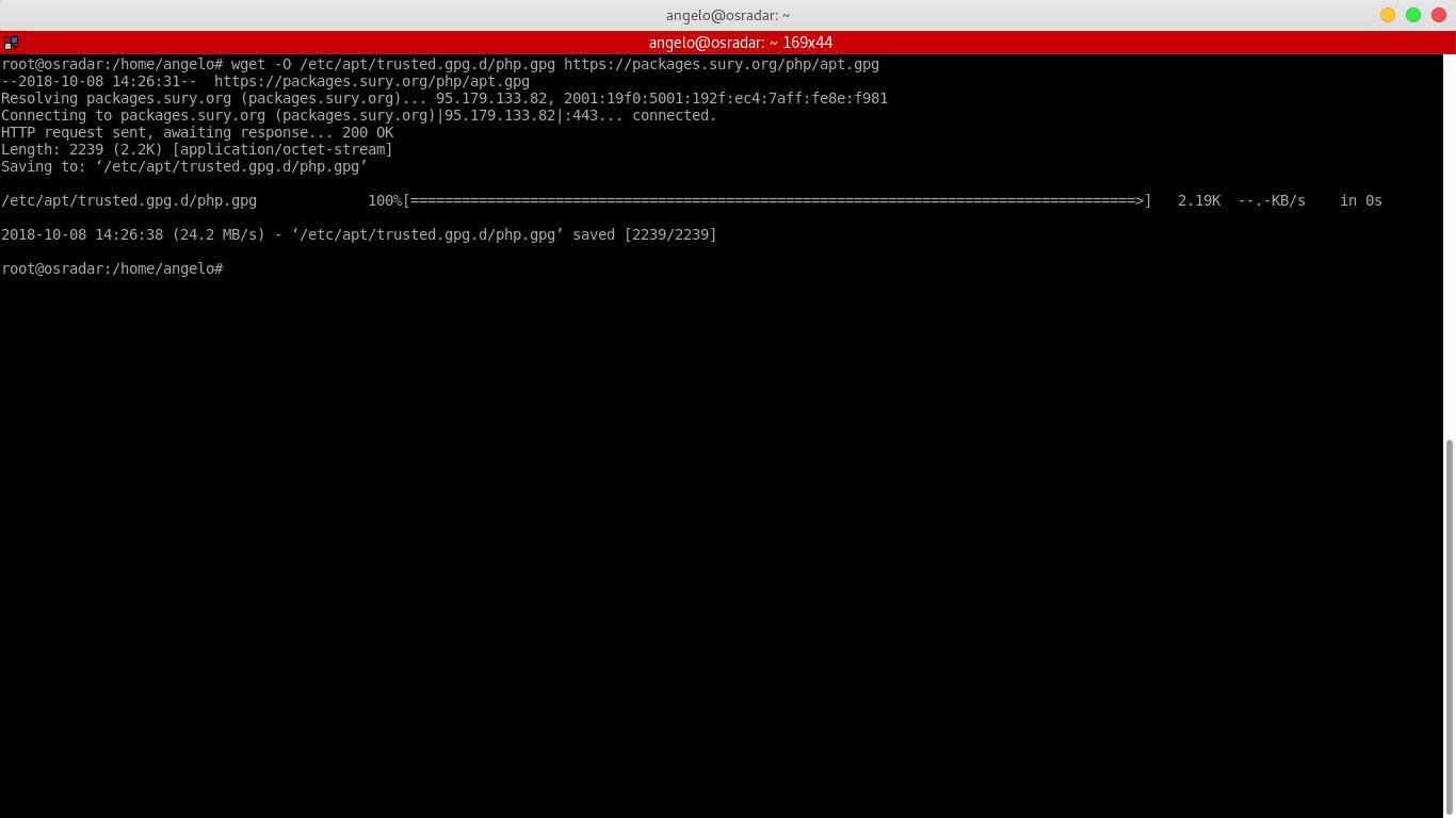 4.- Downloading GPG key