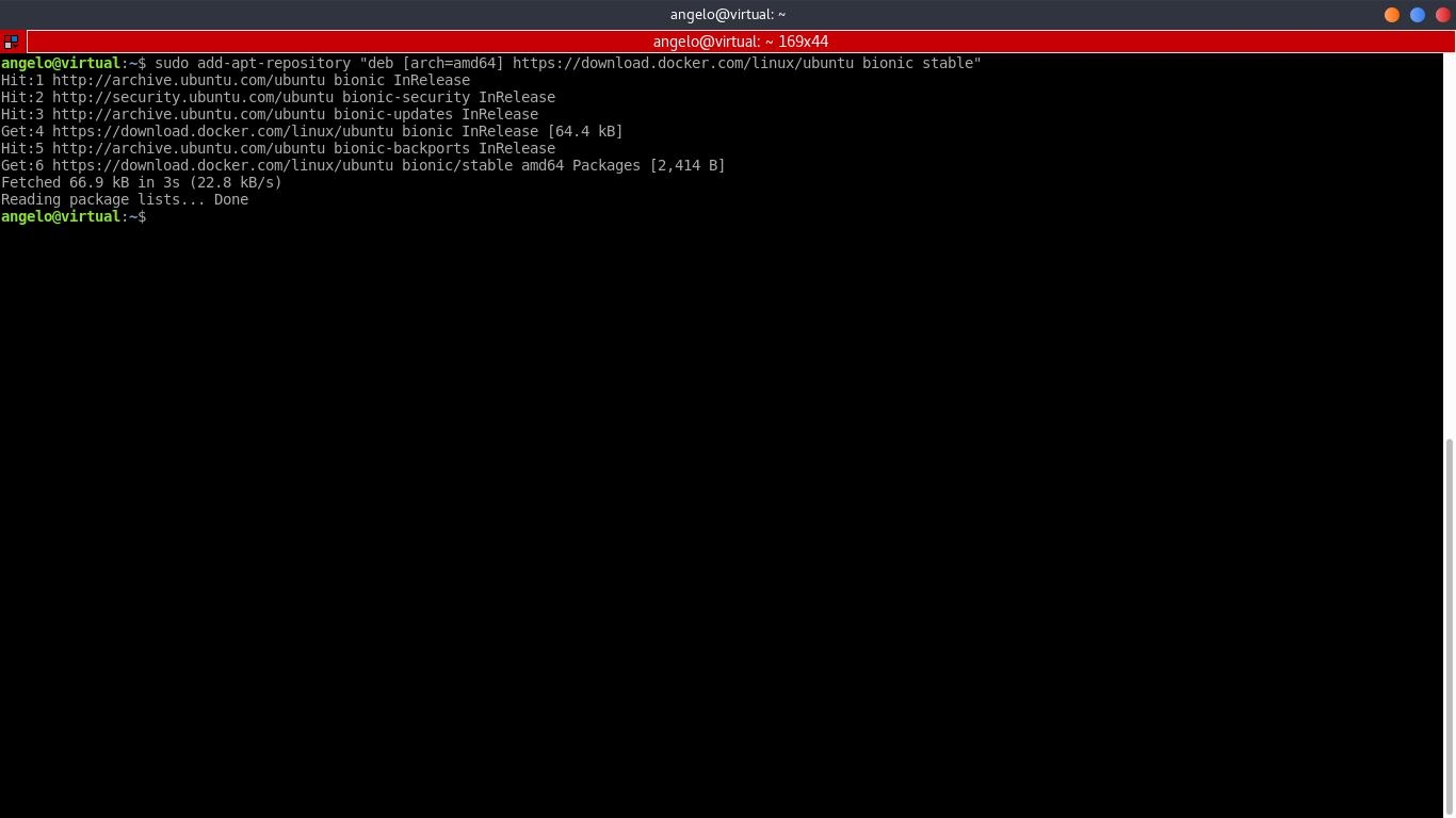 4.- Adding the Docker repository