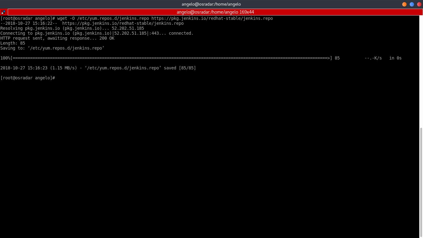 4.- Adding the Jenkins repository file