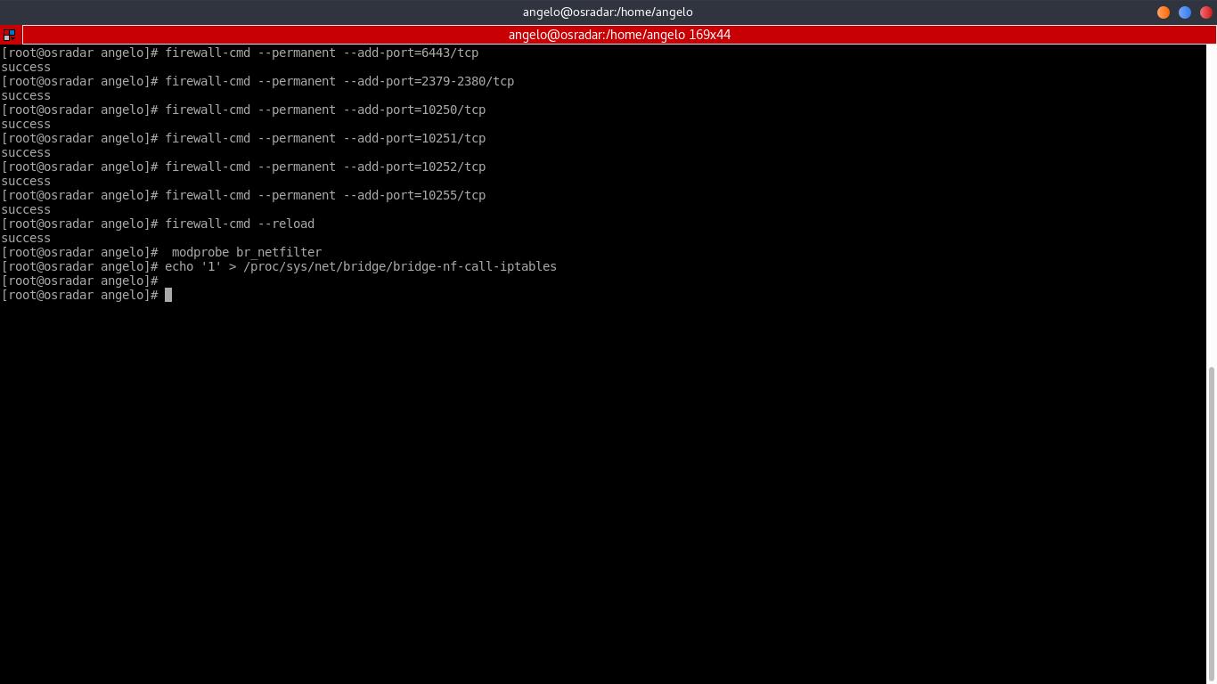 2.- Setting Firewall rules
