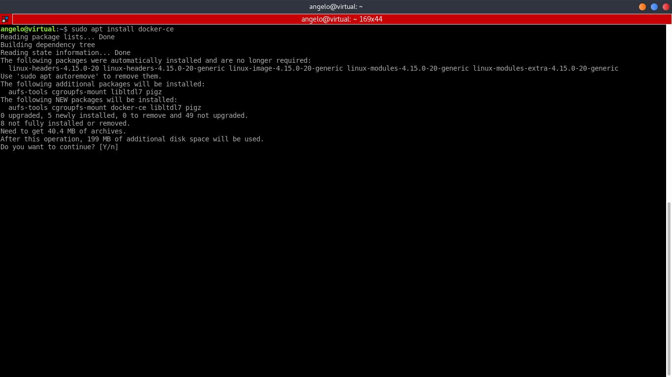 5.- Install Docker