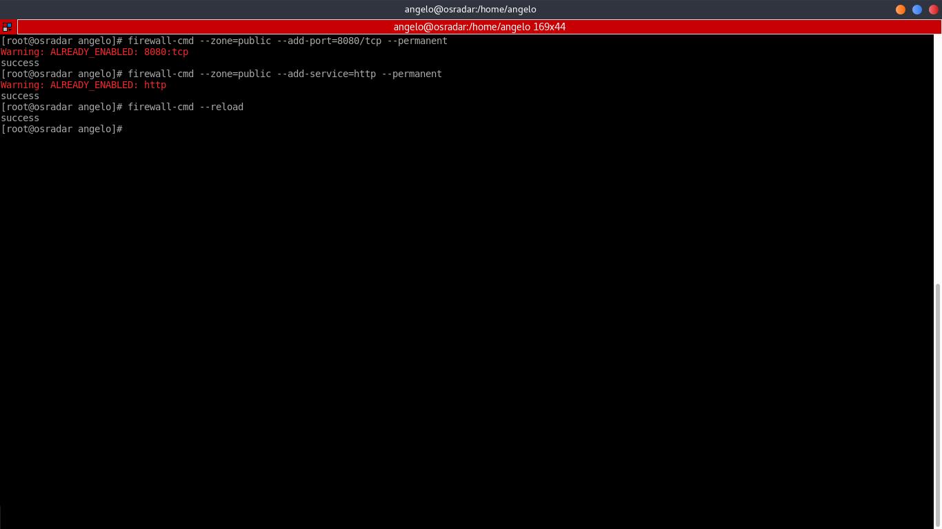 9.- Settings firewall rules
