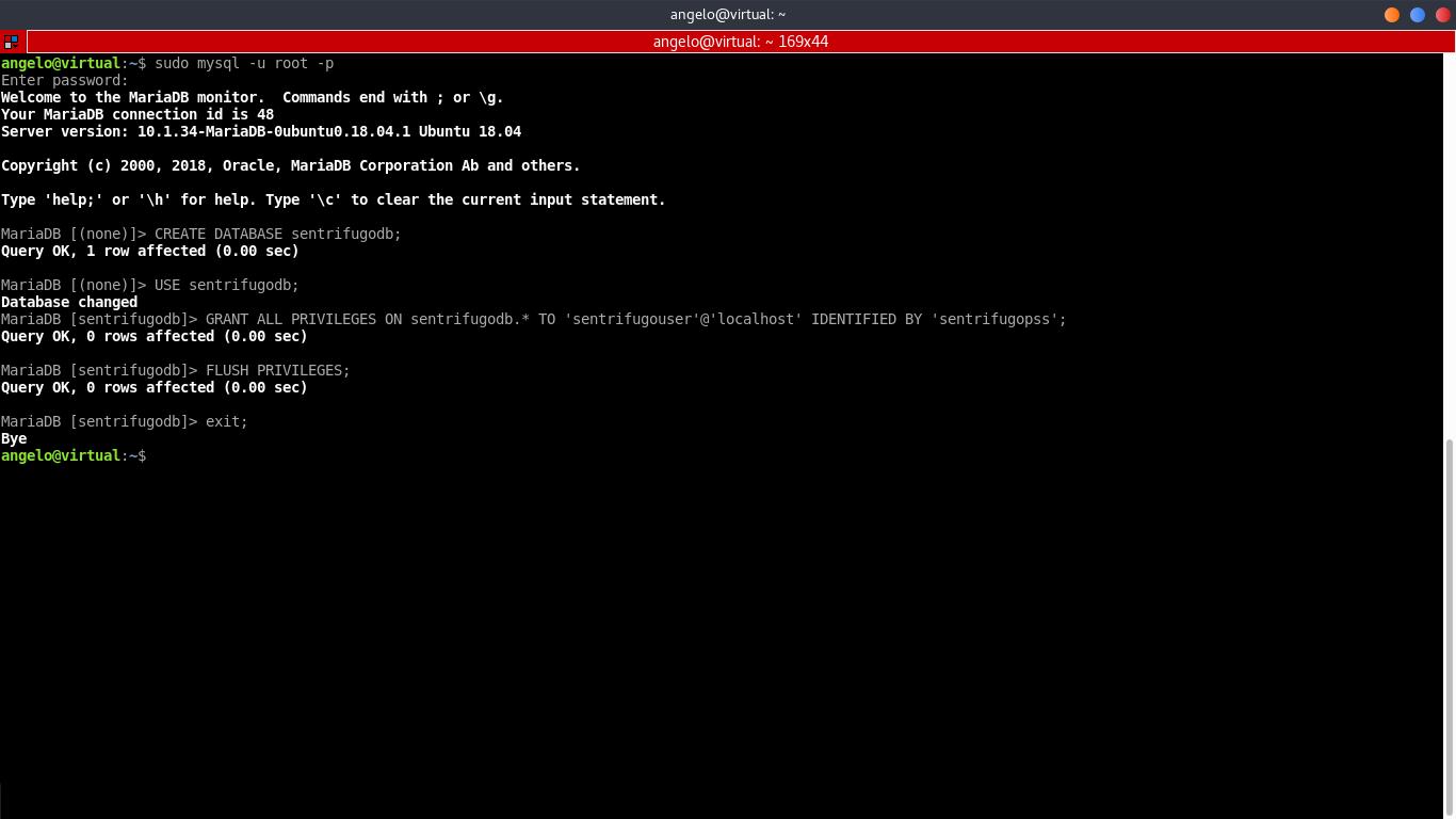 10.- Configuring MariaDB