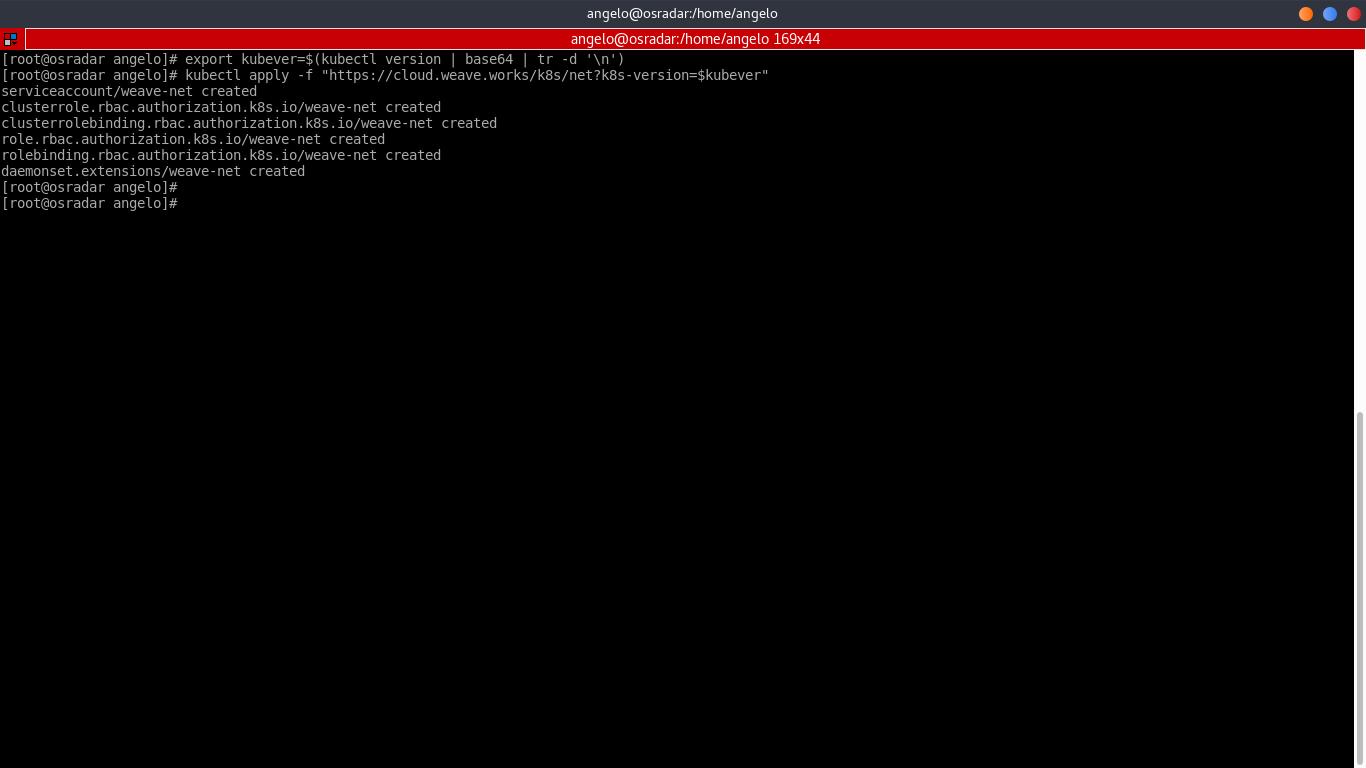 9.- Configuring Kubernetes