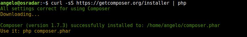 1.- Installing Composer