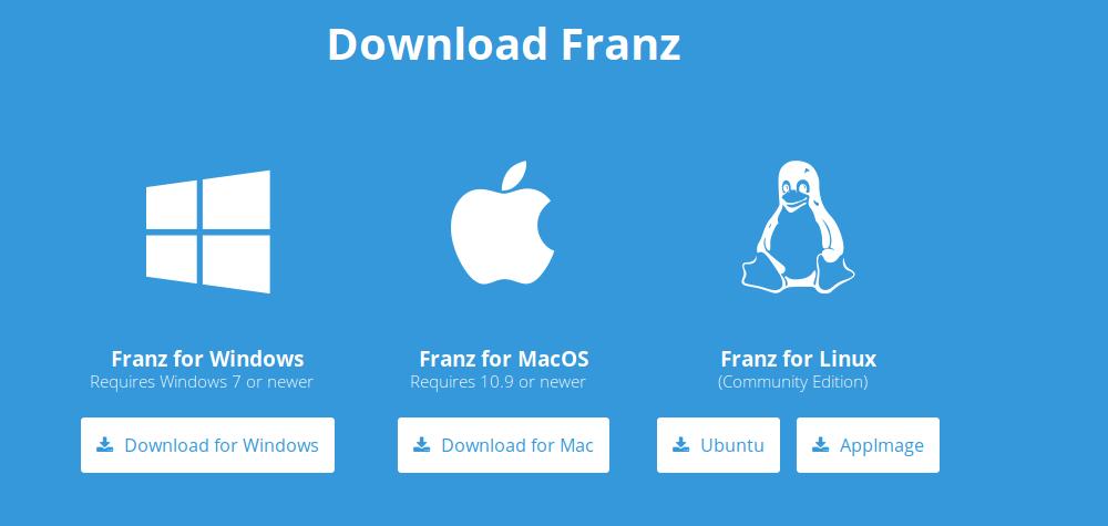 1.- Downloading Franz