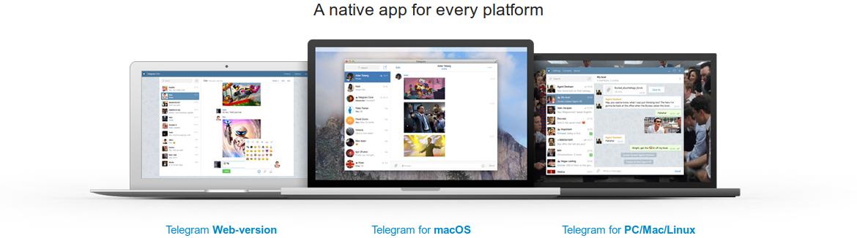 Downloading Telegram desktop client