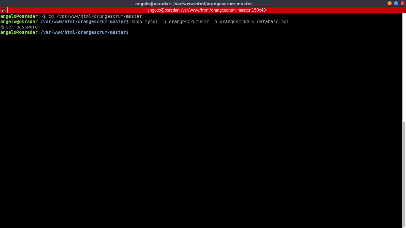 14.- Initializing the Database