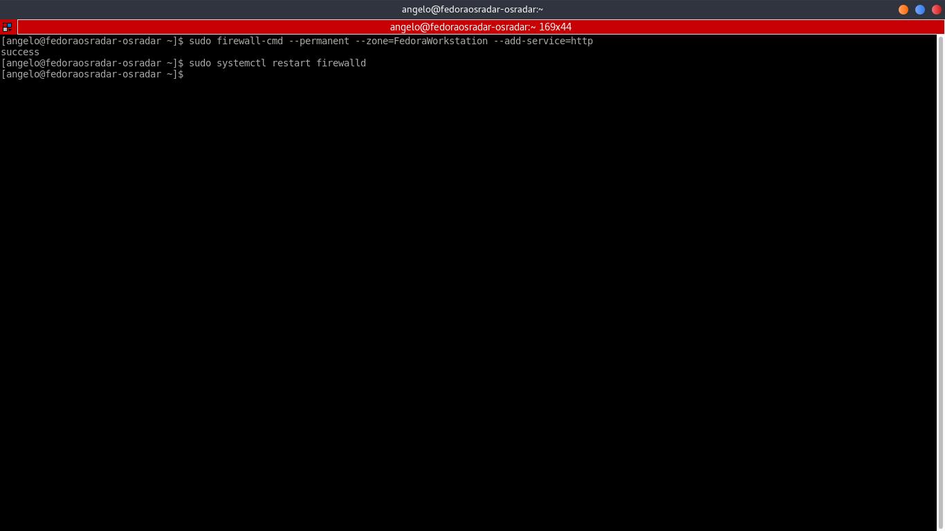 3.- Restarting the Firewall service