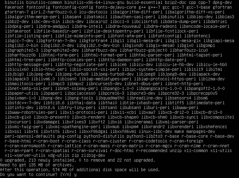 4.- Install R programming