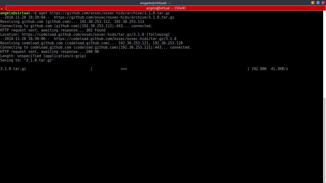 6.- Download OSSEC