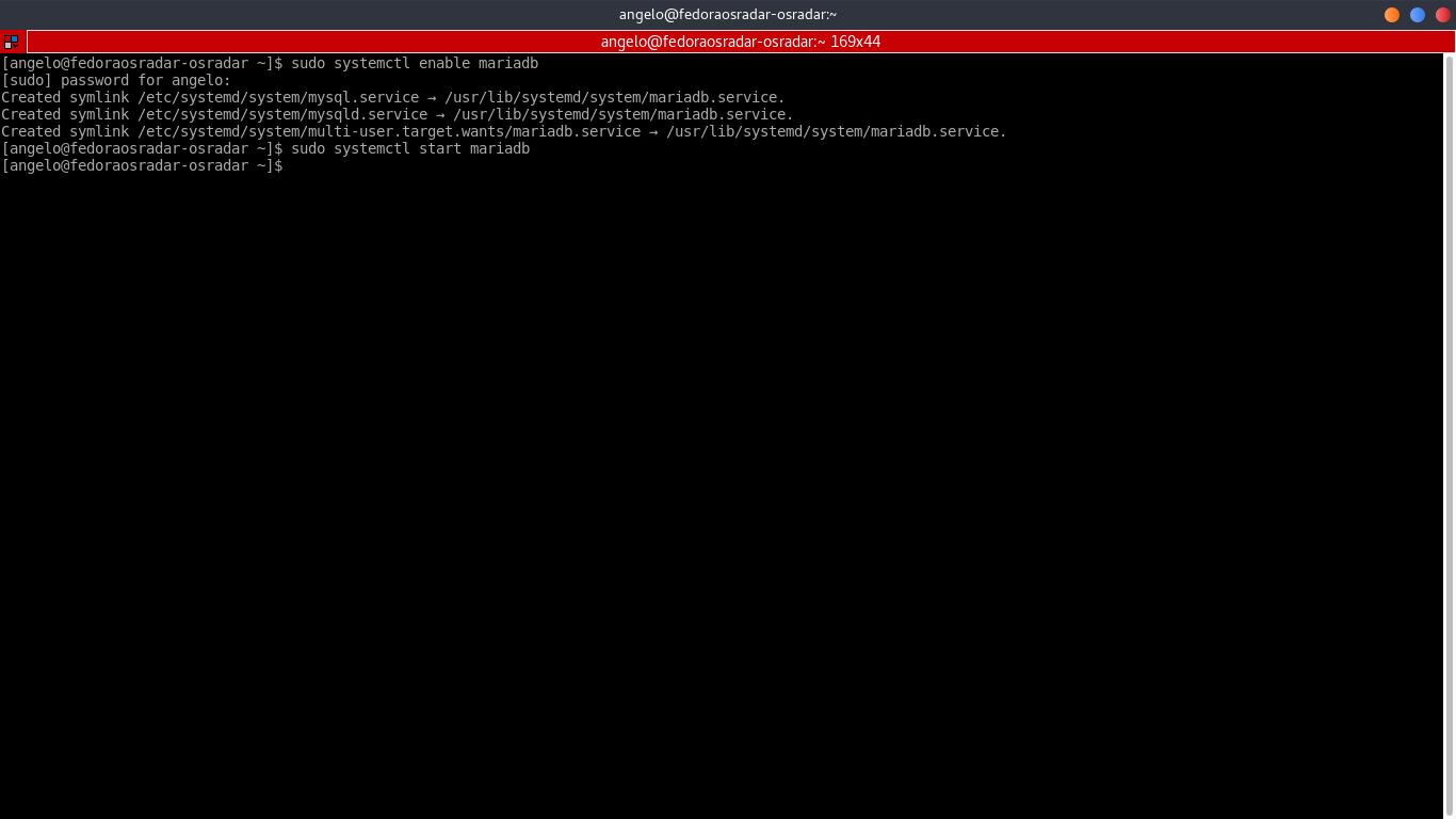 8.- Enabling MariaDB service