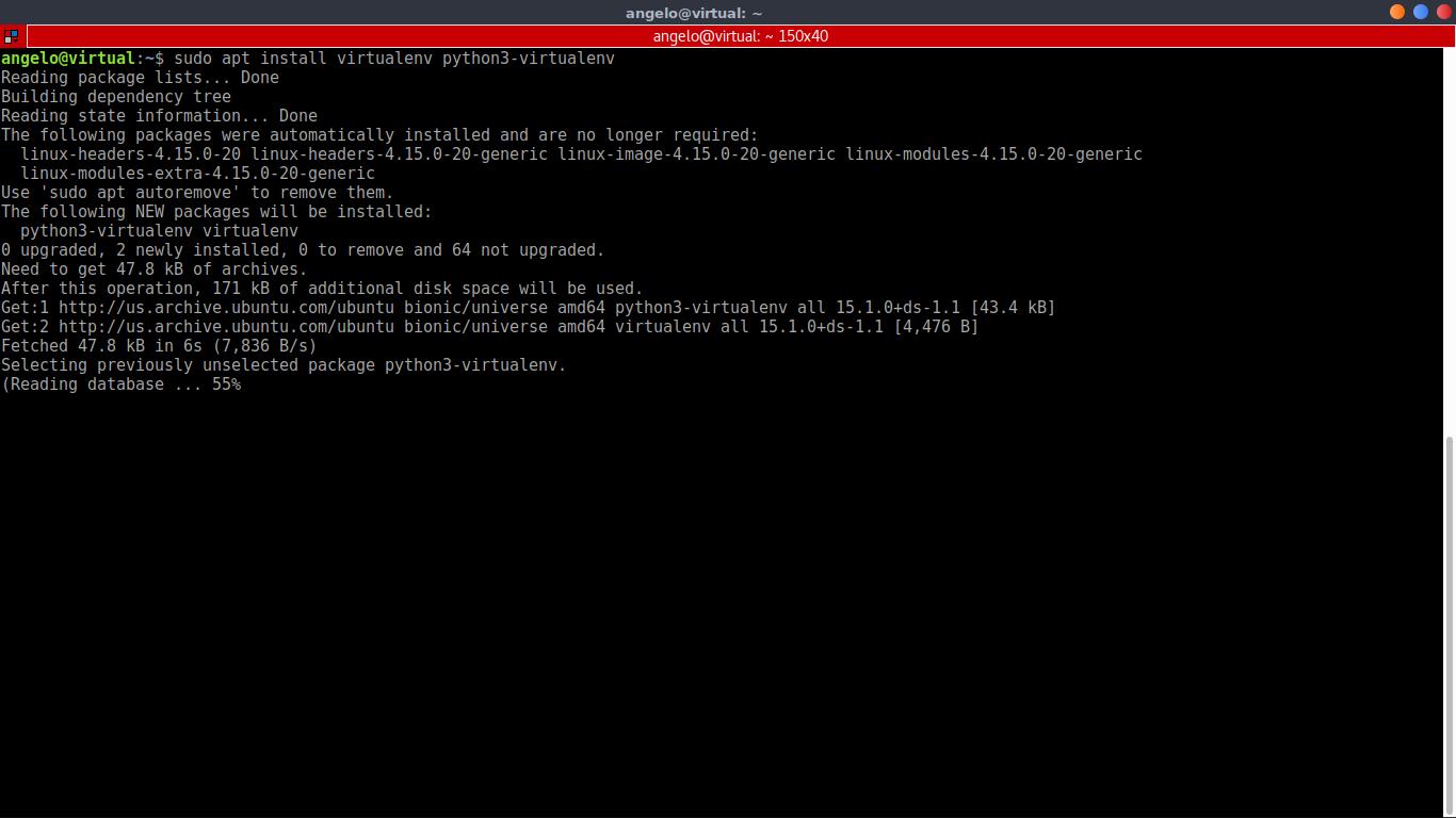 3.- Installling virtualenv