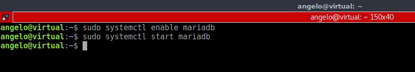 5.- Enabling MariaDB service