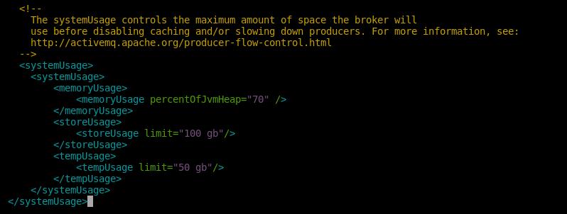 10.- System usage